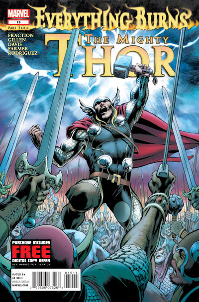 Cover for The Mighty Thor (Marvel, 2011 series) #19