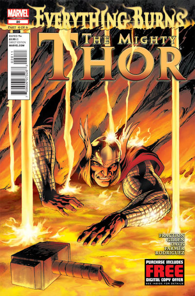Cover for The Mighty Thor (Marvel, 2011 series) #20