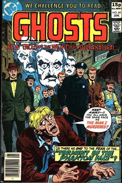 Cover for Ghosts (DC, 1971 series) #84