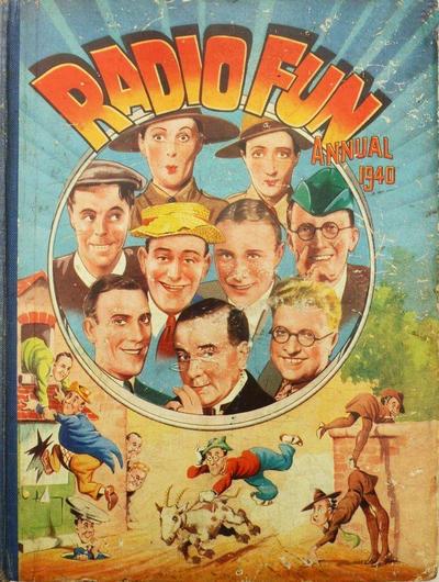 Cover for Radio Fun Annual (Amalgamated Press, 1940 series) #1940