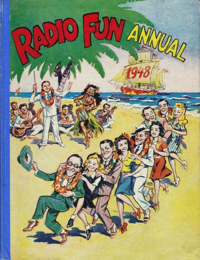 Cover for Radio Fun Annual (Amalgamated Press, 1940 series) #1948