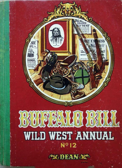 Cover for Buffalo Bill Wild West Annual (T. V. Boardman, 1949 series) #12