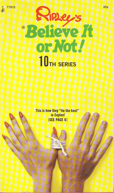 Cover for Ripley's Believe It or Not! (Pocket Books, 1941 series) #10 [First Printing]