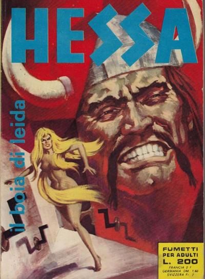Cover for Hessa (Ediperiodici, 1970 series) #5