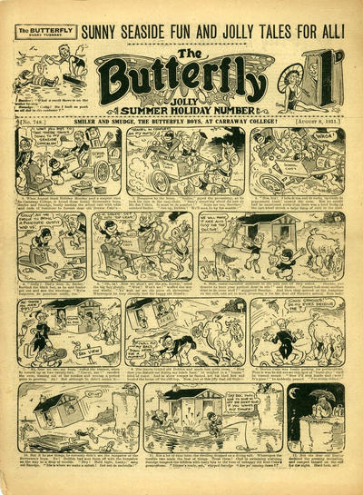 Cover for Butterfly (Amalgamated Press, 1925 series) #748