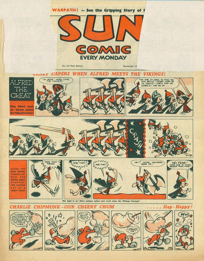 Cover for Sun Comic (Amalgamated Press, 1949 series) #93
