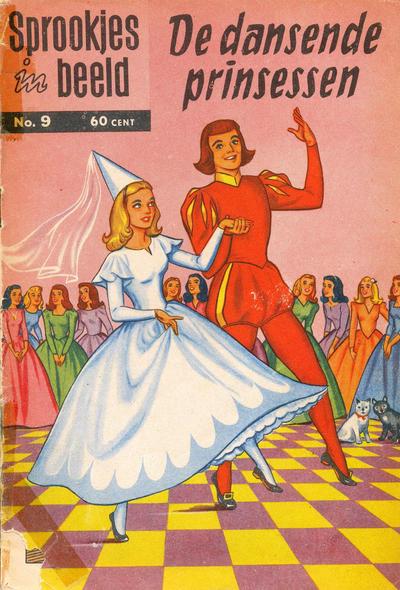 Cover for Sprookjes in beeld (Classics/Williams, 1957 series) #9 - De dansende prinsessen