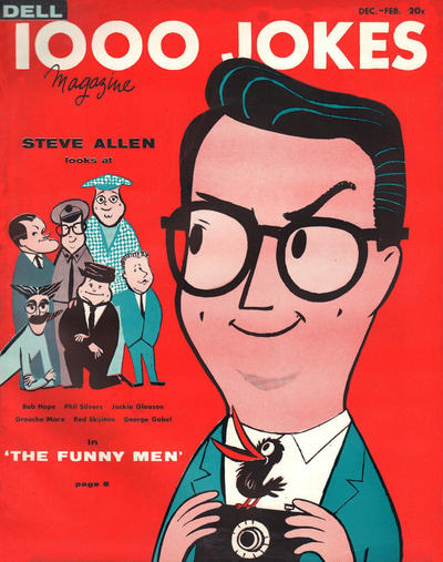 Cover for 1000 Jokes (Dell, 1939 series) #80
