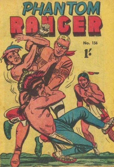 Cover for The Phantom Ranger (Frew Publications, 1948 series) #156