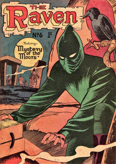 Cover for The Raven (Young's Merchandising Company, 1957 series) #6