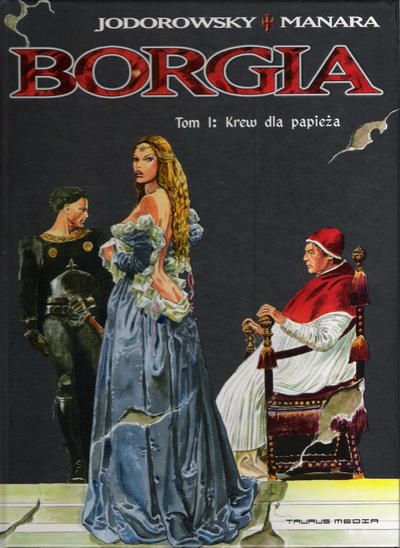 Cover for Borgia (Taurus Media, 2006 series) #1 - Krew dla papieża