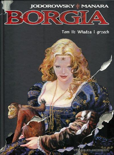 Cover for Borgia (Taurus Media, 2006 series) #2 - Władza i grzech