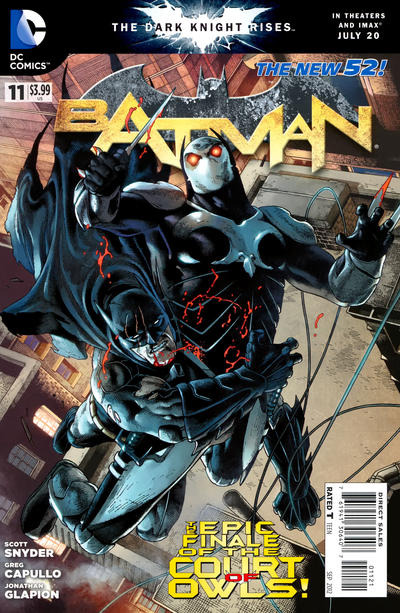 Cover for Batman (DC, 2011 series) #11 [Andy Clarke Cover]
