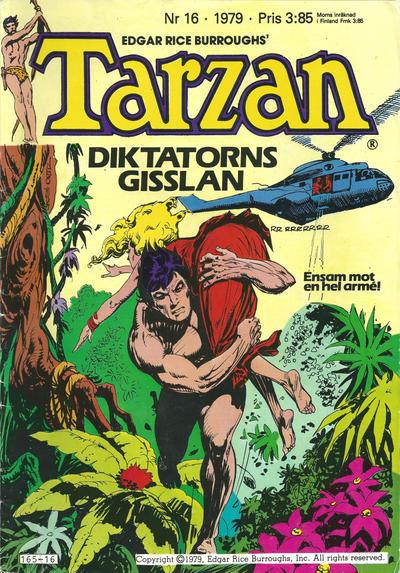 Cover for Tarzan (Atlantic Förlags AB, 1977 series) #16/1979
