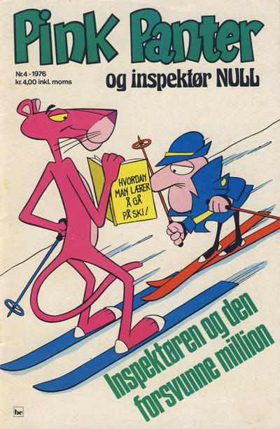 Cover for Pink Panter (Nordisk Forlag, 1974 series) #4/1976