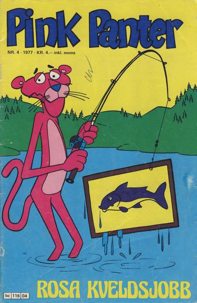 Cover for Pink Panter (Semic, 1977 series) #4/1977