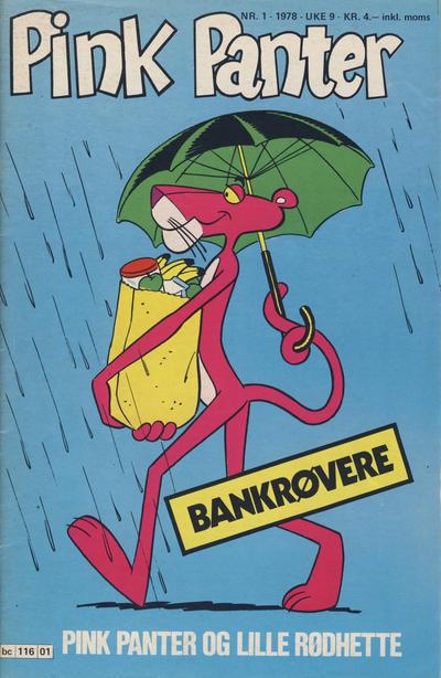 Cover for Pink Panter (Semic, 1977 series) #1/1978