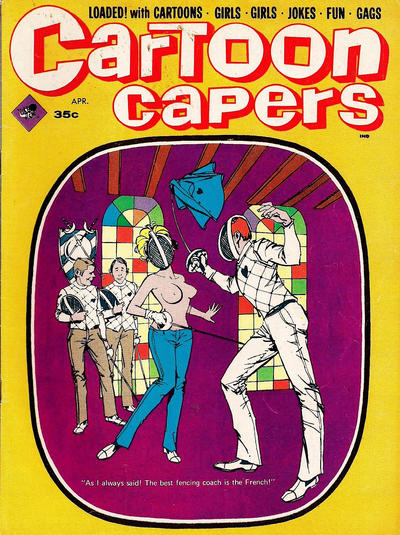 Cover for Cartoon Capers (Marvel, 1966 series) #v4#2