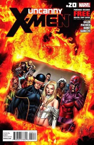 Cover for Uncanny X-Men (Marvel, 2012 series) #20