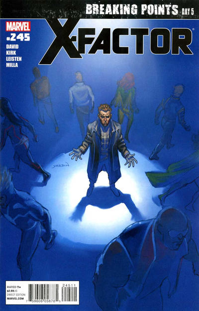 Cover for X-Factor (Marvel, 2006 series) #245