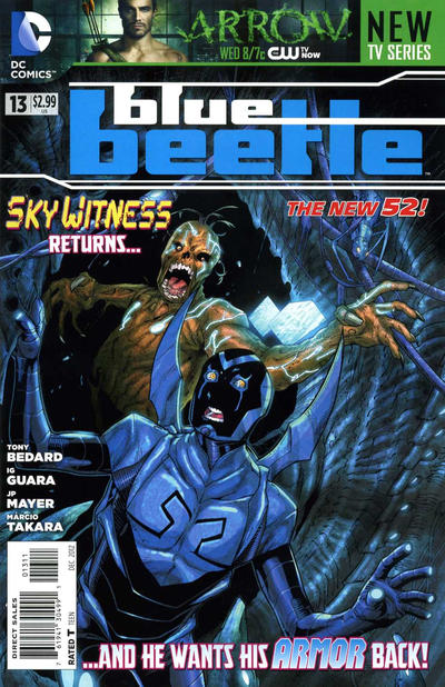 Cover for Blue Beetle (DC, 2011 series) #13