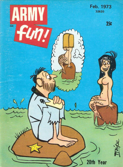 Cover for Army Fun (Prize, 1952 series) #v11#8