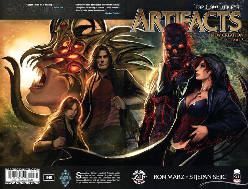 Cover for Artifacts (Image, 2010 series) #16