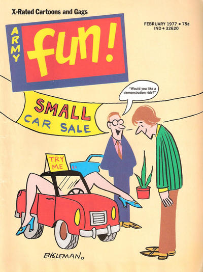 Cover for Army Fun (Prize, 1952 series) #v14#1