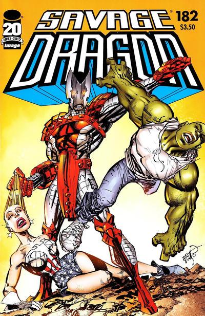 Cover for Savage Dragon (Image, 1993 series) #182