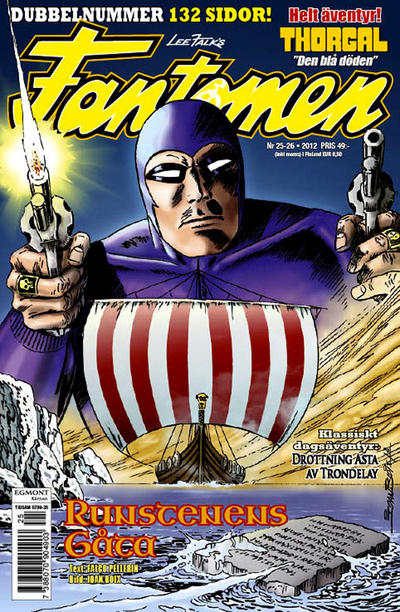 Cover for Fantomen (Egmont, 1997 series) #25-26/2012
