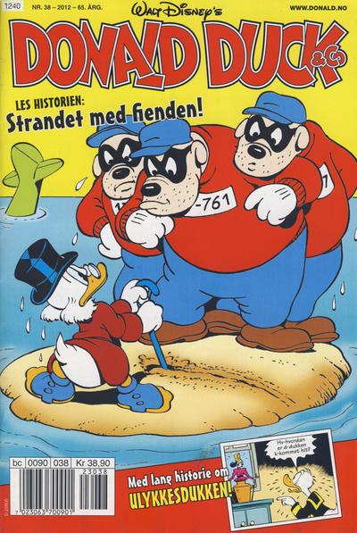 Cover for Donald Duck & Co (Hjemmet / Egmont, 1948 series) #38/2012