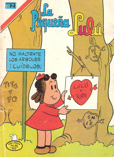 Cover for La Pequeña Lulú (Editorial Novaro, 1951 series) #478