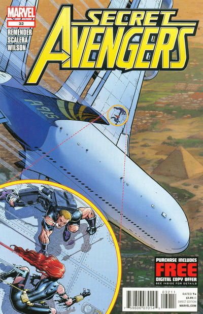 Cover for Secret Avengers (Marvel, 2010 series) #32