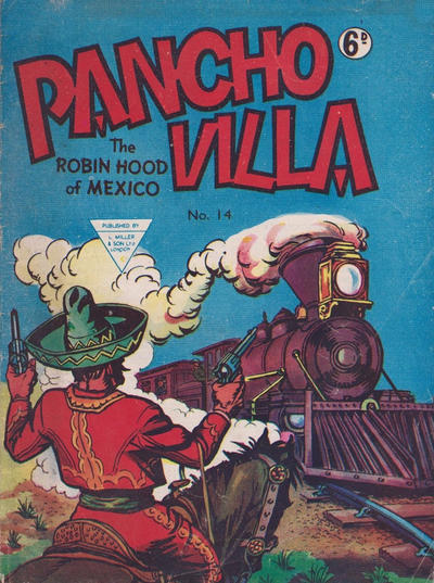 Cover for Pancho Villa Western Comic (L. Miller & Son, 1954 series) #14