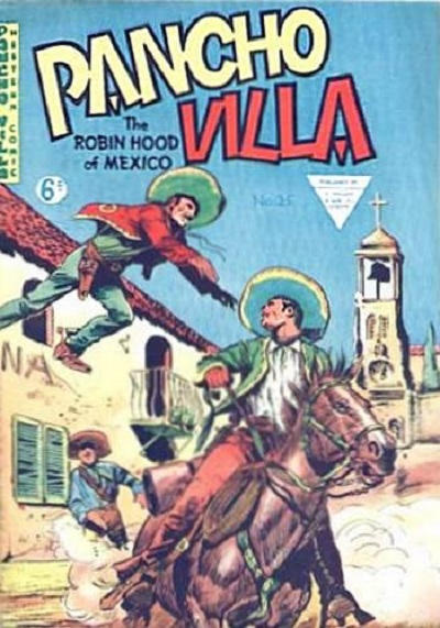 Cover for Pancho Villa Western Comic (L. Miller & Son, 1954 series) #25