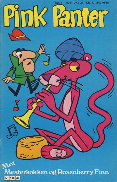 Cover for Pink Panter (Semic, 1977 series) #4/1978