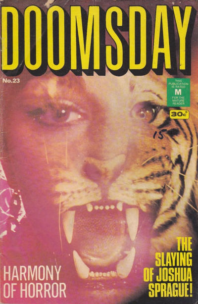 Cover for Doomsday (K. G. Murray, 1972 series) #23