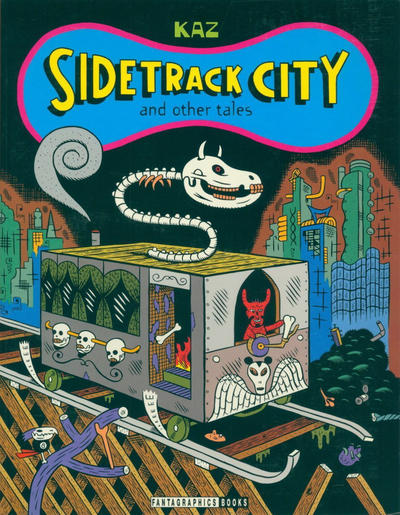 Cover for Sidetrack City and Other Tales (Fantagraphics, 1996 series)