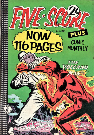 Cover for Five-Score Plus Comic Monthly (K. G. Murray, 1960 series) #22