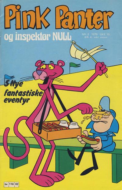 Cover for Pink Panter (Semic, 1977 series) #2/1979