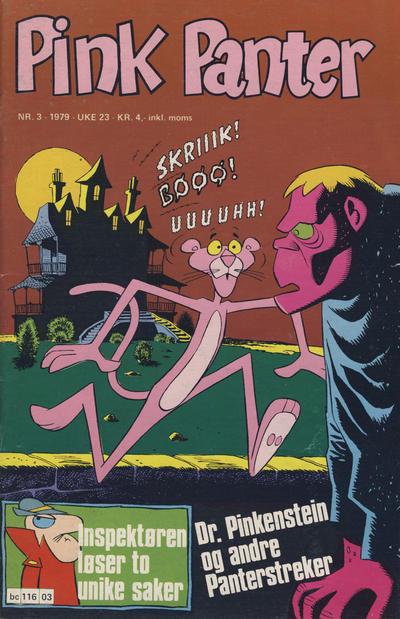Cover for Pink Panter (Semic, 1977 series) #3/1979