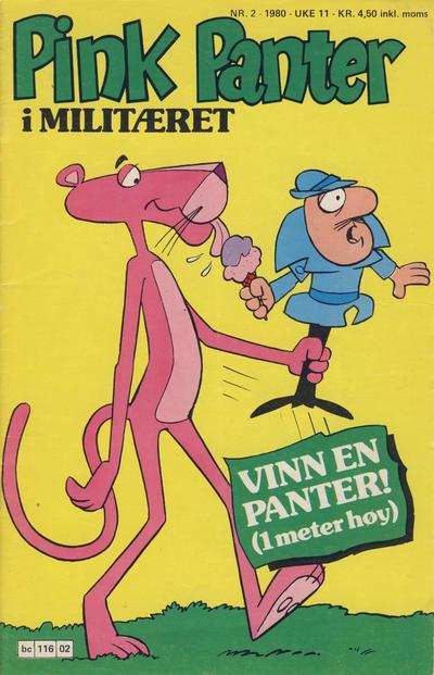 Cover for Pink Panter (Semic, 1977 series) #2/1980