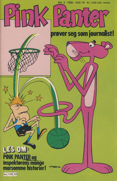 Cover for Pink Panter (Semic, 1977 series) #3/1980