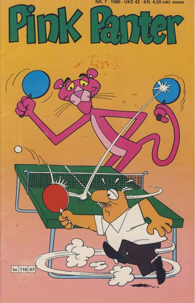 Cover for Pink Panter (Semic, 1977 series) #7/1980