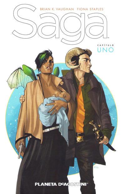 Cover for Saga (Planeta DeAgostini, 2012 series) #1 - Capítulo Uno