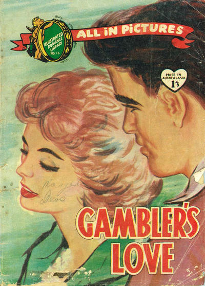 Cover for Illustrated Romance Library (Magazine Management, 1957 ? series) #76