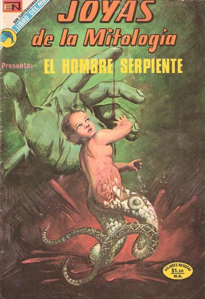 Cover for Joyas de la Mitología (Editorial Novaro, 1962 series) #231
