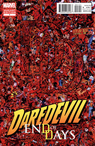 Cover for Daredevil: End of Days (Marvel, 2012 series) #1 [Variant Cover by David Mack]