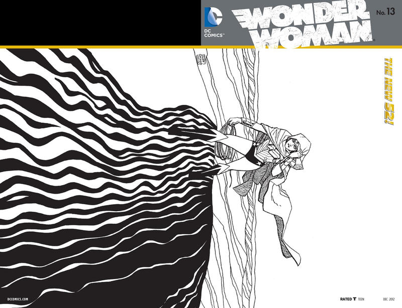 Cover for Wonder Woman (DC, 2011 series) #13