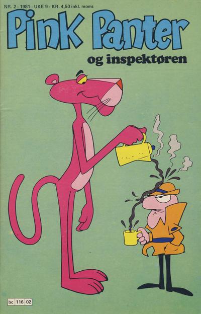 Cover for Pink Panter (Semic, 1977 series) #2/1981